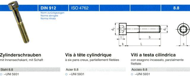Zylinderschrauben M6x18 DIN 912 10 St/ück Festigkeit 10.9 mit Innensechskant schwarz